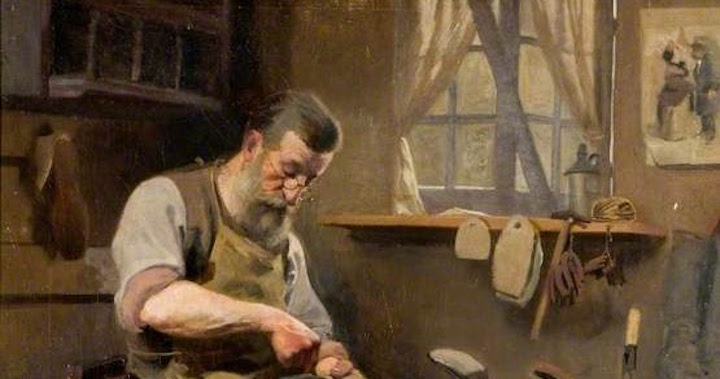 Hall, Frederick; Experienced Hands; Northampton Museums & Art Gallery; http://www.artuk.org/artworks/experienced-hands-49773