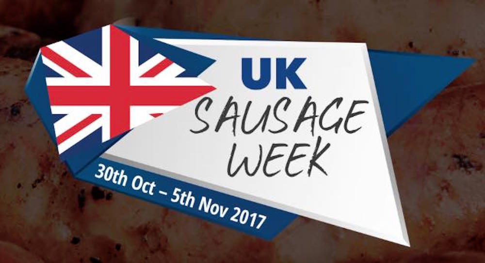 National sausage week 2017 logo