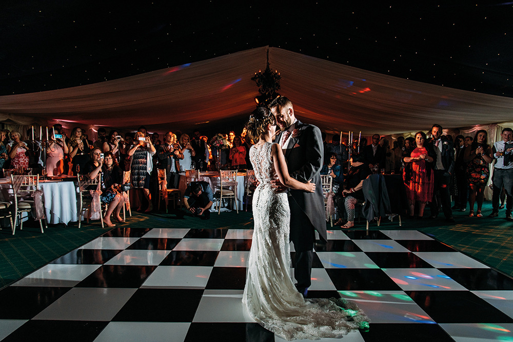 First Dance wedding reception Highgate House Creaton