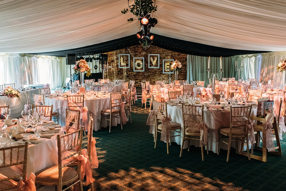 Wedding reception at Highgate House Hotel Creaton