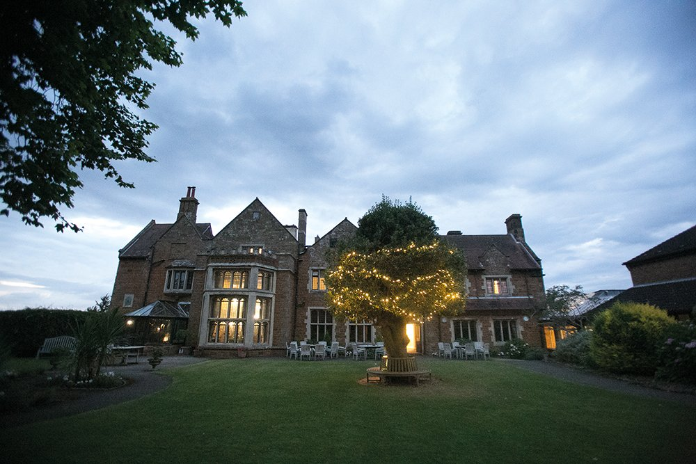 Beautiful evening wedding at Highgate House Hotel Creaton