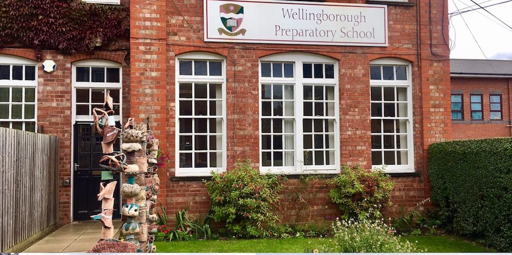 Exterior shots at Wellingborough school