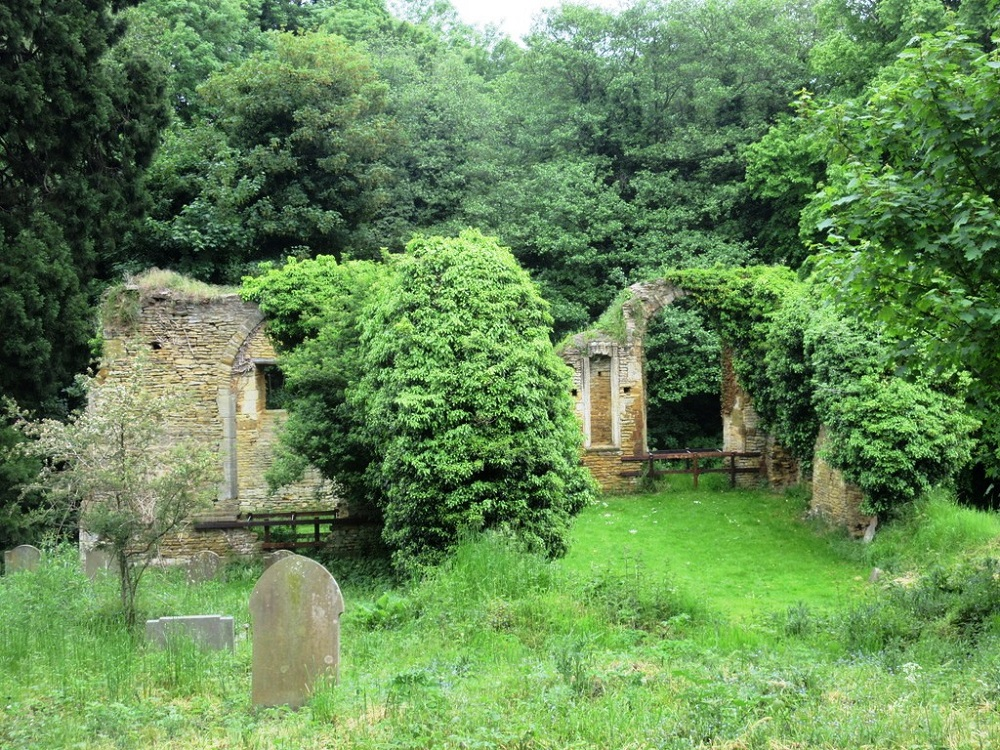 The ruins of St John, Boughton: the most haunted site in Northamptonshire