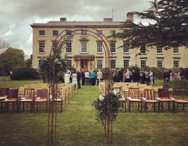 Cranford Hall wedding