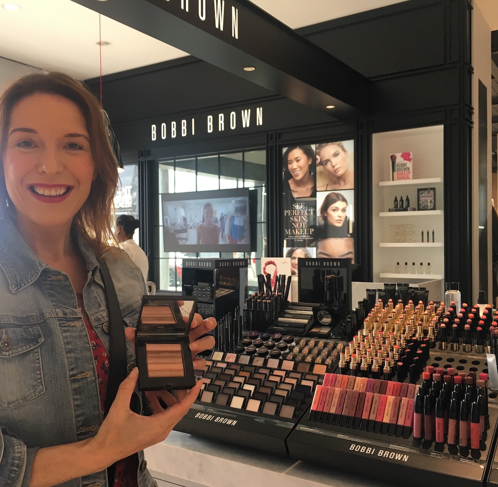Bobbi Brown shimmer block House of fraser Rushden Lakes
