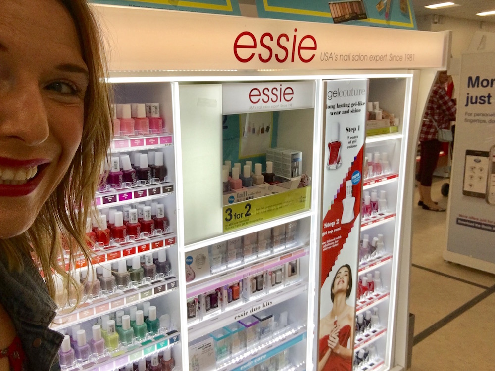 Essie Nail varnish at Boots in Rushden Lakes