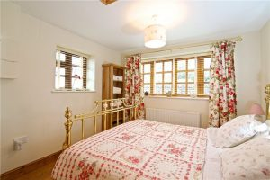 Bedroom at Pear Tree Cottage Everdon King size bed