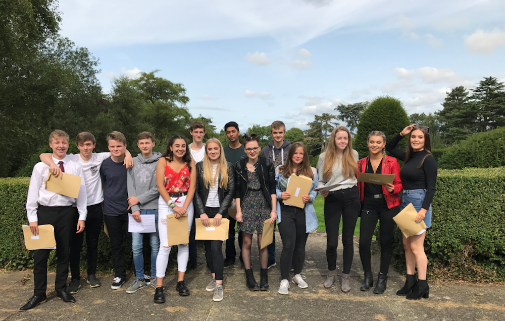 Exam results at Pitsford school