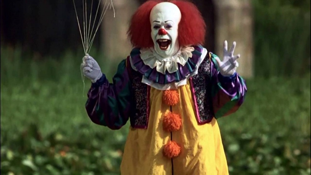 Pennywise clown from Stephen King's IT