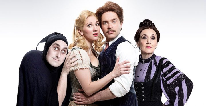 Young frankenstein Garrick theatre Lesley Joseph Ross Noble