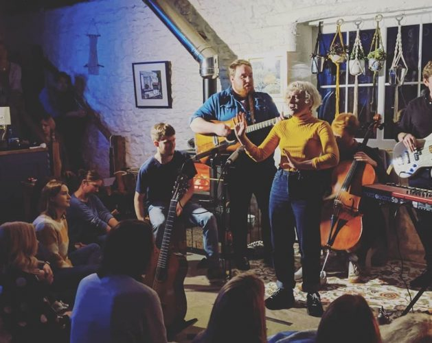 Songs by Firelight at Forge Coffee