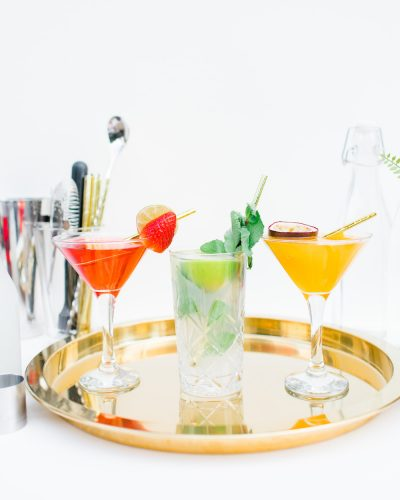 Lockdown cocktails from the occasion bar