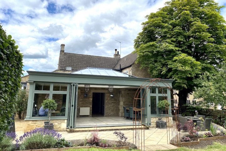 The orangery at the Falcon Inn Fotheringhay