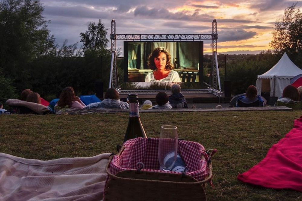 Movies-by-the-lake Stanwick Lakes