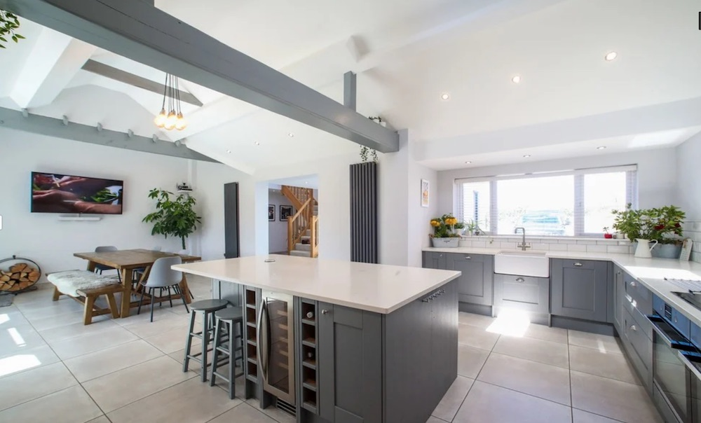Gayton renovated property kitchen Northants