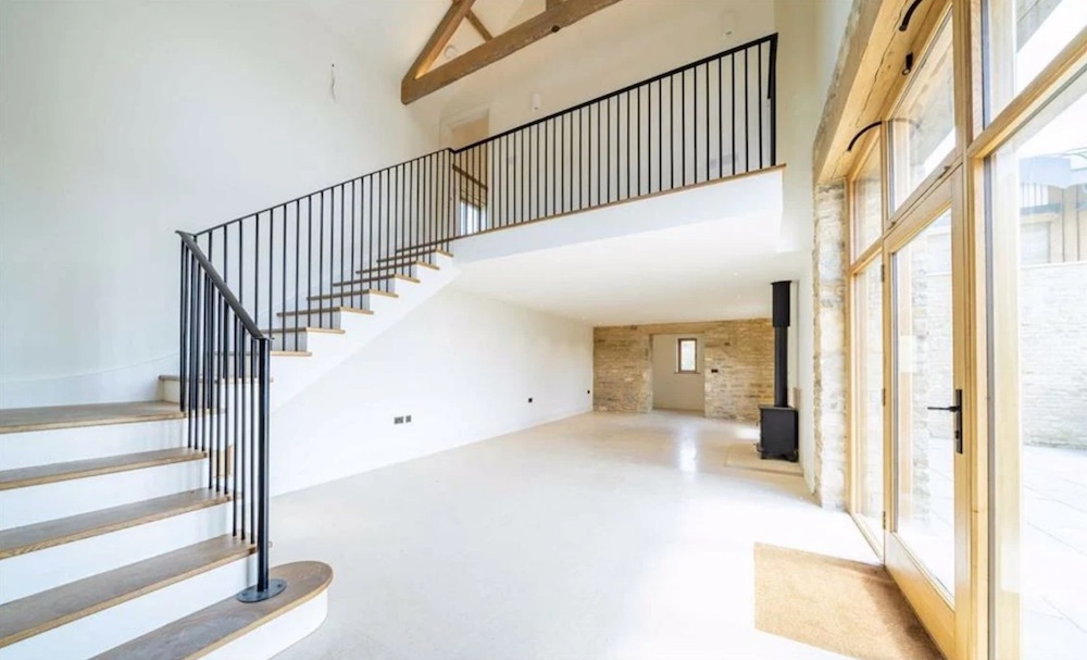 Harringworth barn conversion interior