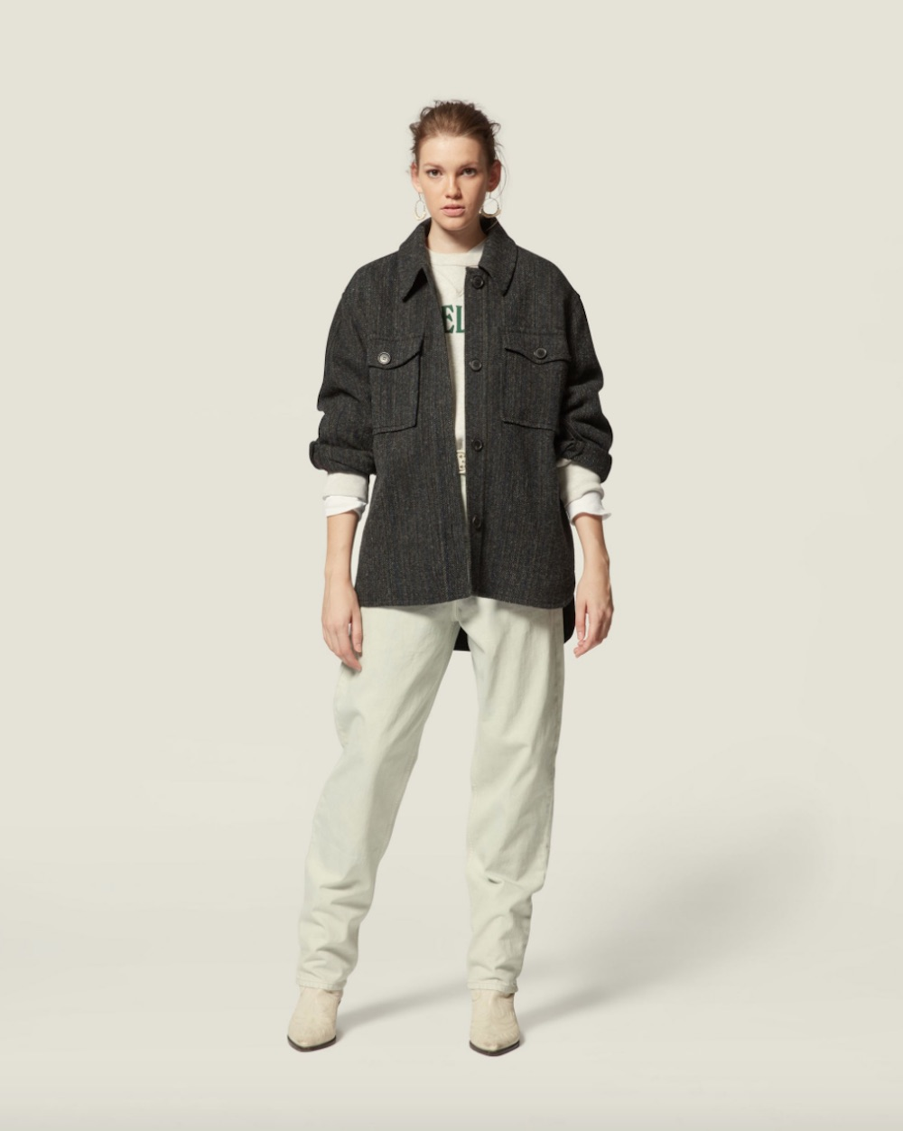 Isabel Marant Garvey shaket from 32 The Guild
