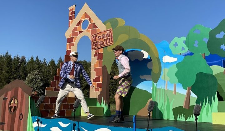 Ratty and Mole Immersion Theatre Wind in the Willows
