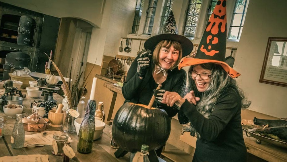 Rockingham Castle Halloween