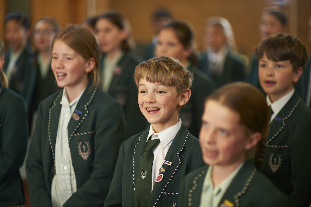 Spratton Hall choir music lessons