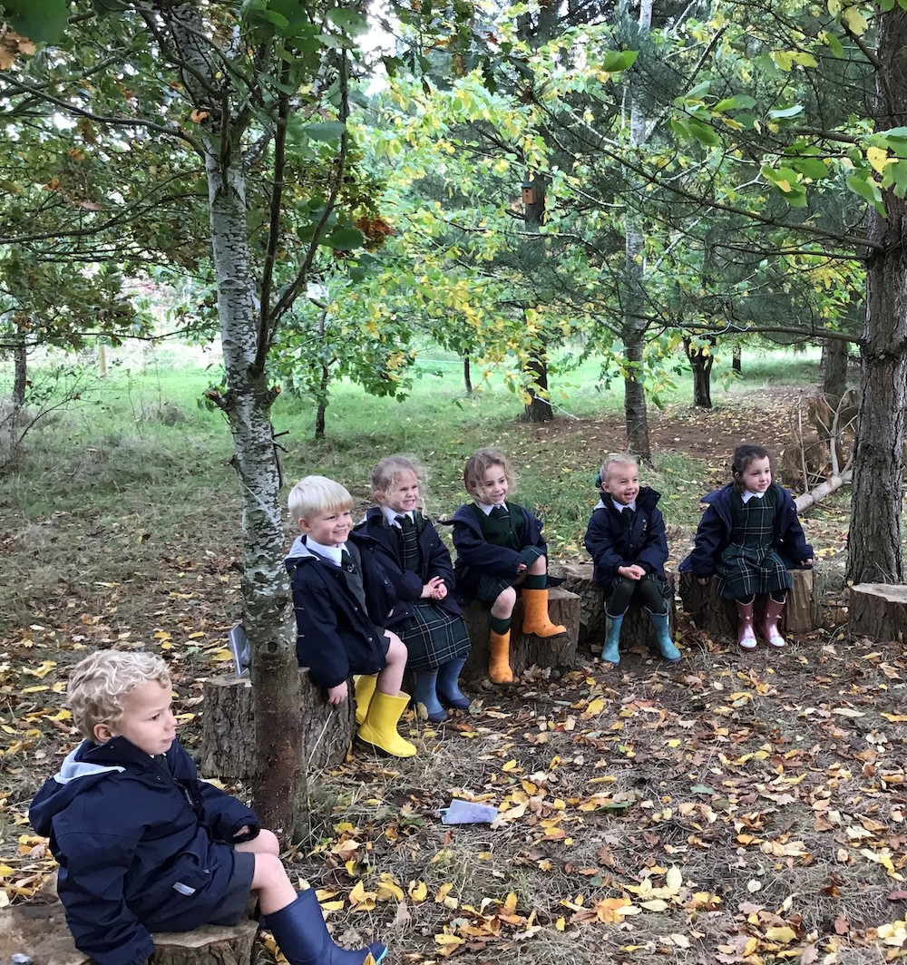 Spratton Hall forest school