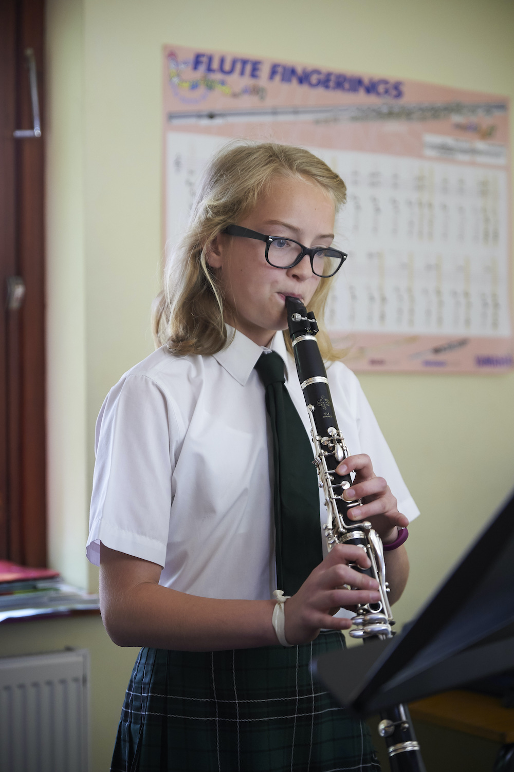 Music lessons at Spratton Hall prep school northants