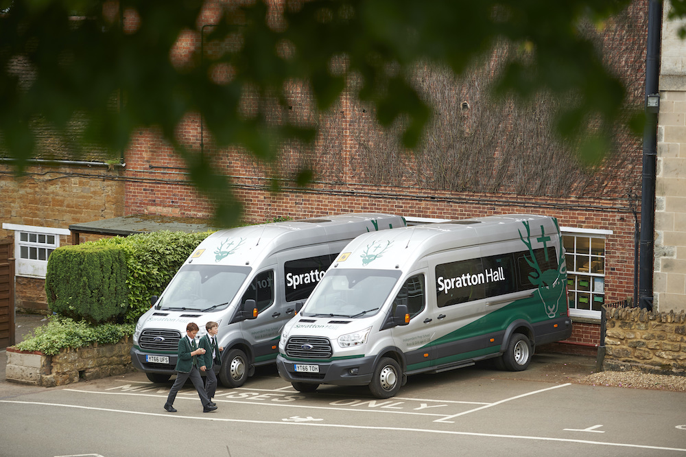 Spratton Hall mini buses