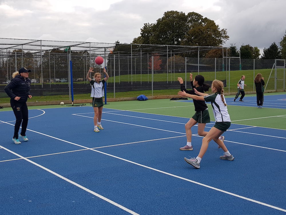 Netball at Spratton Hall