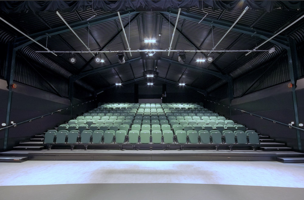 Hunter Hall theatre space Spatton Hall prep school Northants