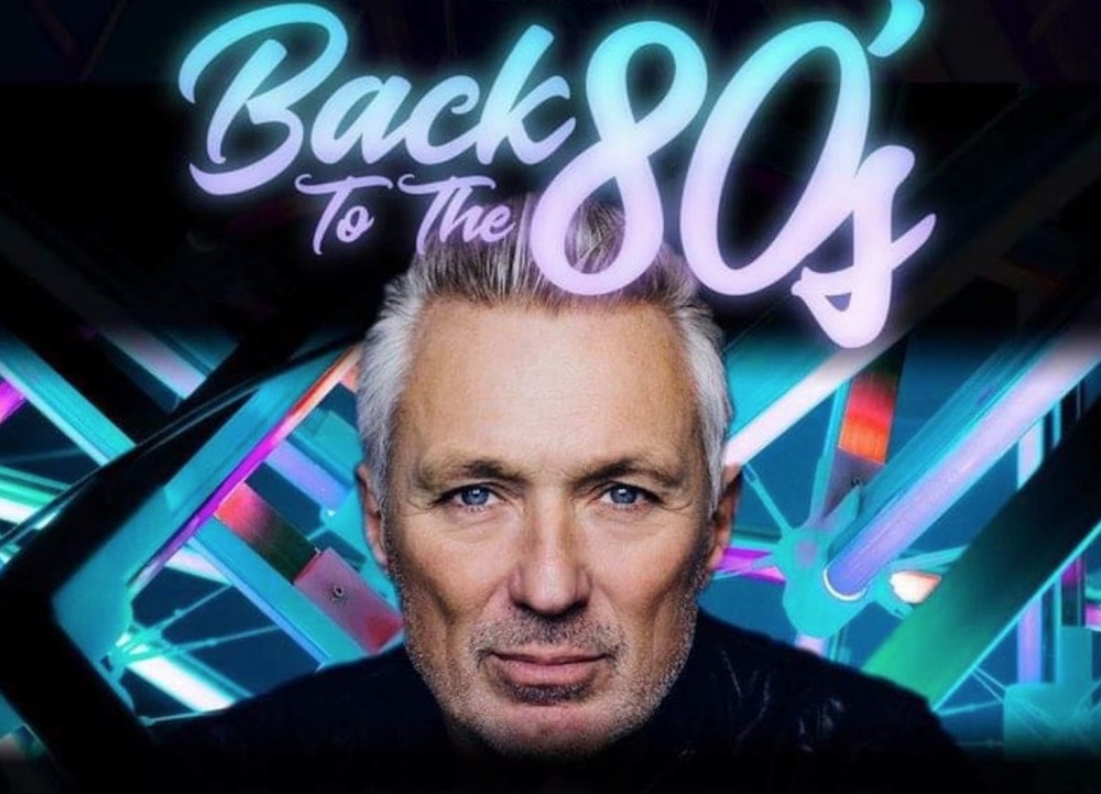 Martin Kemp back to the 80s northampton roadmender