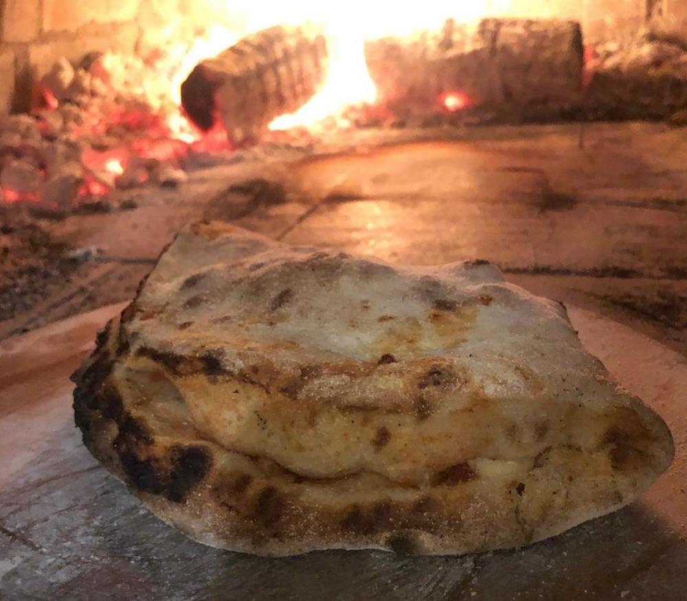 Water mill Ringstead pizza calzone