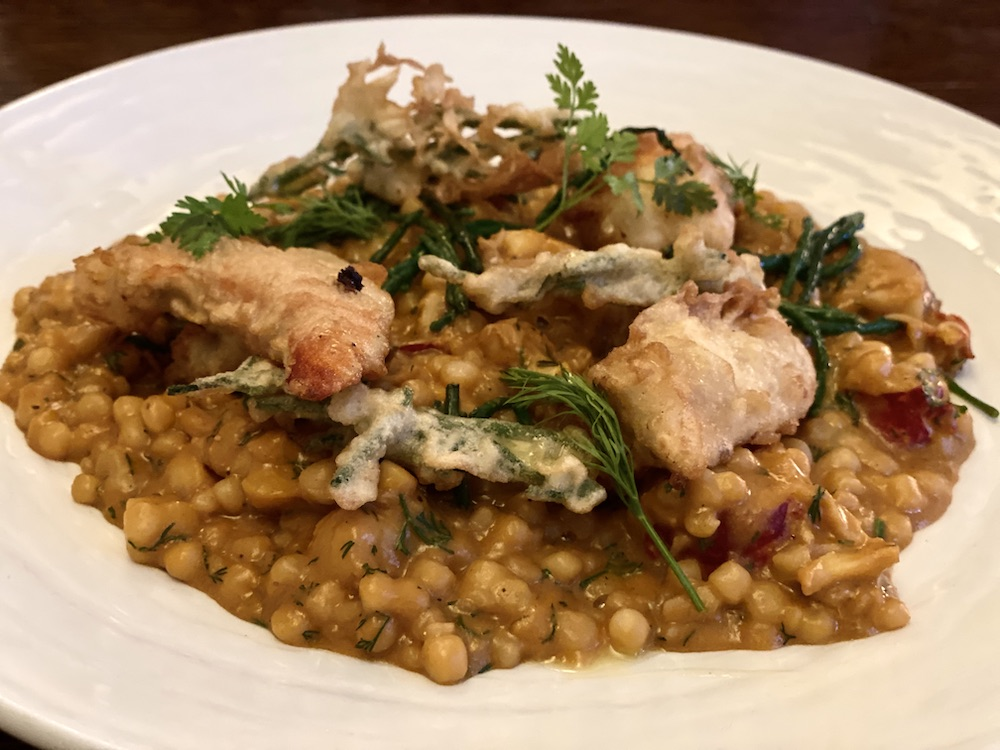Lobster Risotto fox and hounds charwelton northants northamptonshire