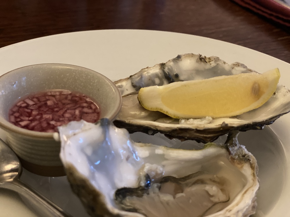 Maldon Oysters Fox and Hounds Charwelton